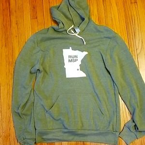 "Minneapolis ""RUN MSP"" Unisex Hoodie M"